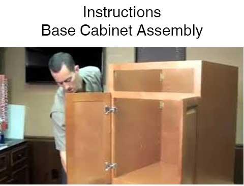 Base Cabinet Assembly