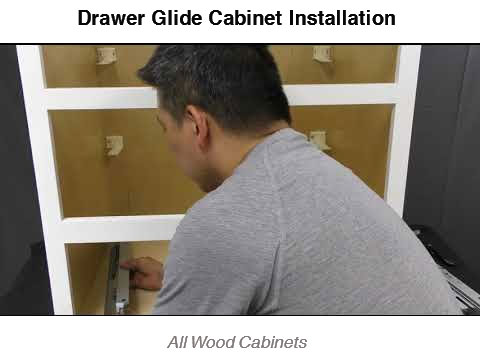 Soft Close Glide Installation (CS