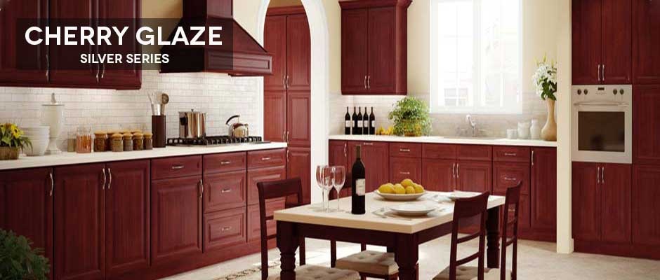 cherry glaze kitchen cabinets online  rh   allwoodcabinets com