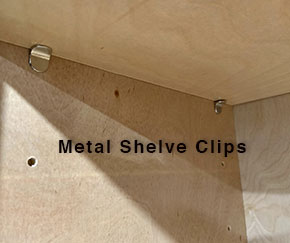 shelve clips